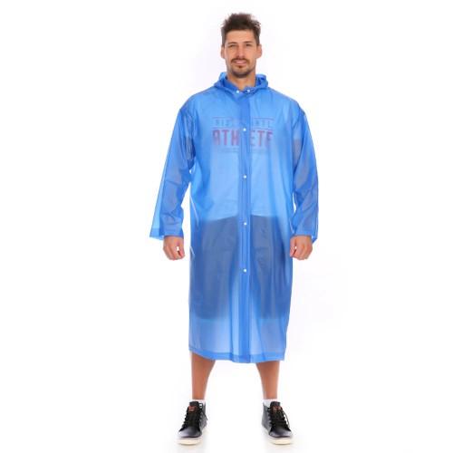 Покупка  Плащ-дождевик EVA Raincoat Унисекс. Темно-синий в  Интернет-магазин Zelenaya Vorona™