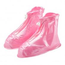 Чехлы-бахилы от дождя. Розовый