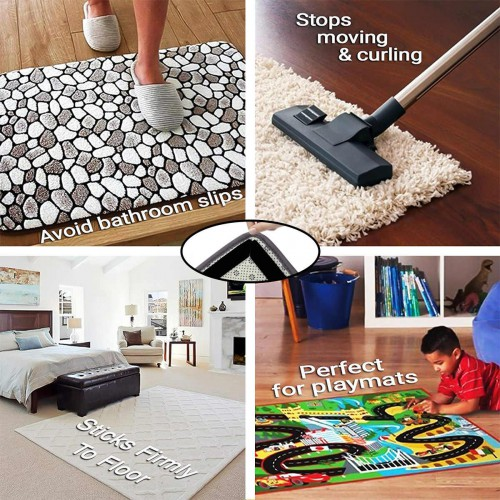 Липучки-фиксаторы для ковров прямые 8 шт/наб.  в  Интернет-магазин Zelenaya Vorona™ 5