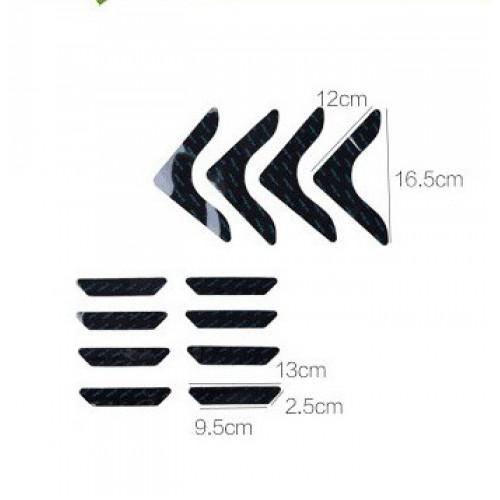 Липучки-фиксаторы для ковров прямые 8 шт/наб.  в  Интернет-магазин Zelenaya Vorona™ 7