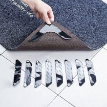 Липучки-фиксаторы для ковров угловые 4 шт/наб.