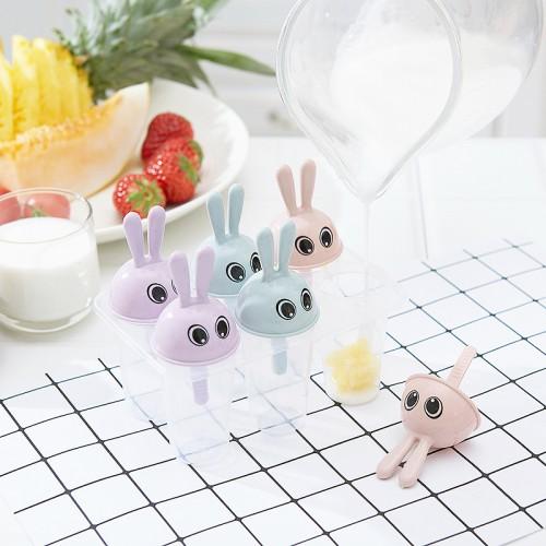 Формочки для мороженого Зайчики (6 форм)  в  Интернет-магазин Zelenaya Vorona™ 1