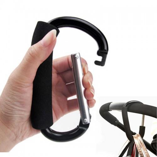 Держатель-карабин для сумок на коляску  в  Интернет-магазин Zelenaya Vorona™ 2
