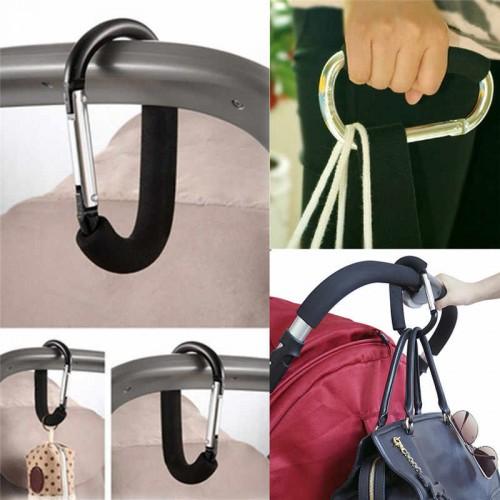 Держатель-карабин для сумок на коляску  в  Интернет-магазин Zelenaya Vorona™ 1