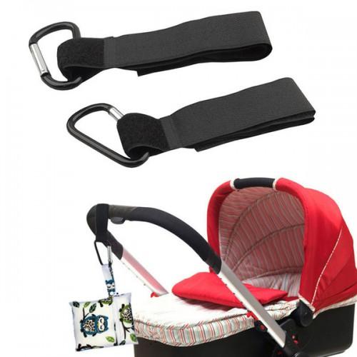 Покупка  Карабин на липучке на коляску для сумок и пакетов в  Интернет-магазин Zelenaya Vorona™