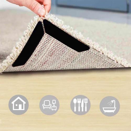 Покупка  Липучки-фиксаторы для ковров прямые 8 шт/наб. в  Интернет-магазин Zelenaya Vorona™