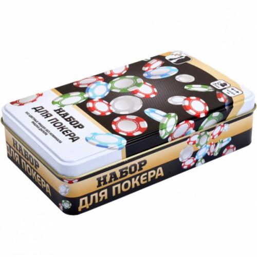 Покупка  Набор для покера 100 фишек в  Интернет-магазин Zelenaya Vorona™