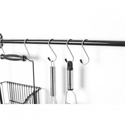 Металлические крючки для рейлинга 4 шт./наб.  в  Интернет-магазин Zelenaya Vorona™ 1
