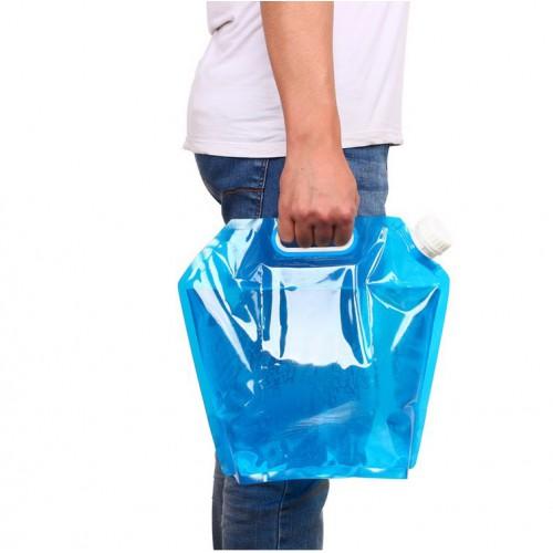 Покупка  Пакет-канистра для воды с ручкой 10 л. в  Интернет-магазин Zelenaya Vorona™