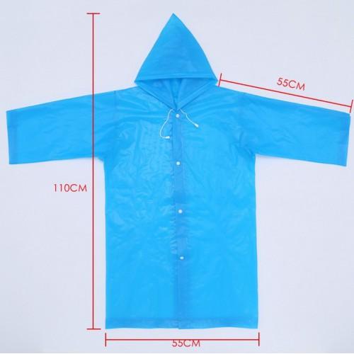 Плащ-дождевик детский EVA Raincoat. Универсальный размер (6-12 лет)  в  Интернет-магазин Zelenaya Vorona™ 6