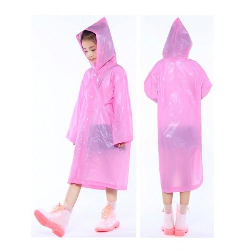 Плащ-дождевик детский EVA Raincoat. Универсальный размер (6-12 лет)  в  Интернет-магазин Zelenaya Vorona™ 1