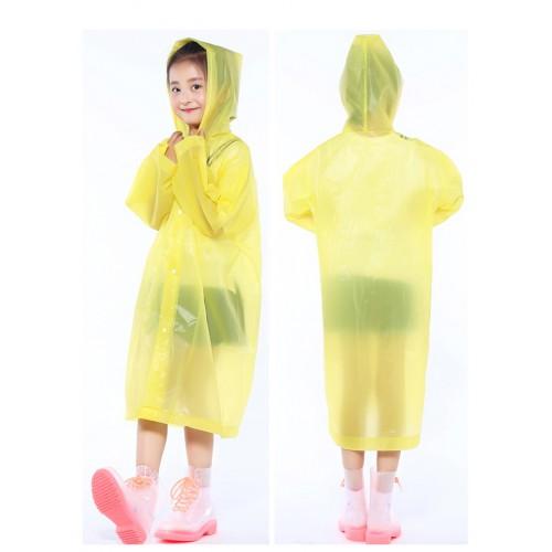 Плащ-дождевик детский EVA Raincoat. Универсальный размер (6-12 лет)  в  Интернет-магазин Zelenaya Vorona™ 2