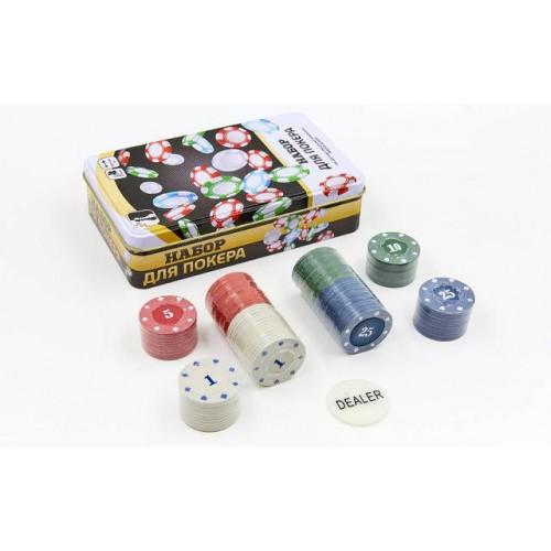 Набор для покера 100 фишек  в  Интернет-магазин Zelenaya Vorona™ 1