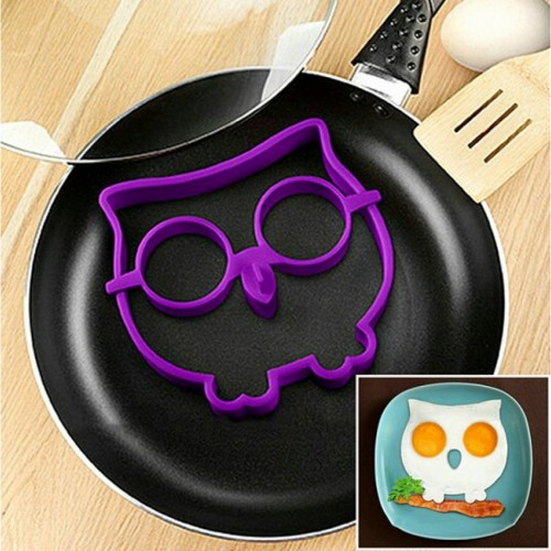 Силиконовая форма для приготовления яичницы Сова  в  Интернет-магазин Zelenaya Vorona™ 1