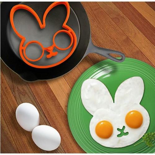 Силиконовая форма для приготовления яичницы Зайчик  в  Интернет-магазин Zelenaya Vorona™ 1