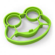 Силиконовая форма для приготовления яичницы Лягушонок