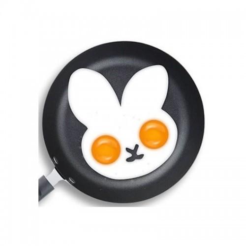 Силиконовая форма для приготовления яичницы Зайчик  в  Интернет-магазин Zelenaya Vorona™ 2