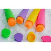 Силиконовые формы для замороженного сока. 4 шт/наб