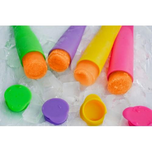 Силиконовые формы для мороженого и замороженного сока. 4 шт./наб.  в  Интернет-магазин Zelenaya Vorona™ 2