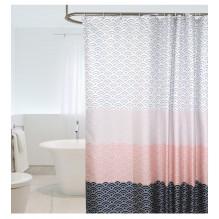 Скандинавская шторка для ванной и душа