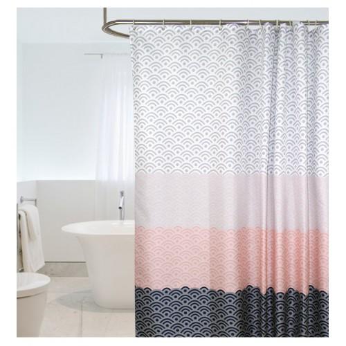 Покупка  Скандинавская шторка для ванной и душа в  Интернет-магазин Zelenaya Vorona™