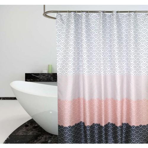 Скандинавская шторка для ванной и душа  в  Интернет-магазин Zelenaya Vorona™ 1