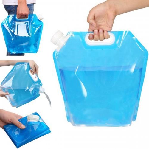 Пакет-канистра для воды с ручкой 10 л.  в  Интернет-магазин Zelenaya Vorona™ 1