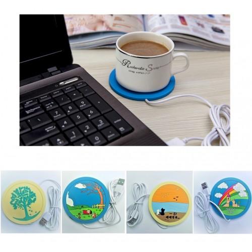 Покупка  USB подставка с подогревом для чашки в  Интернет-магазин Zelenaya Vorona™