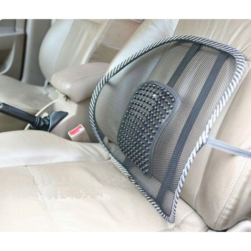 Покупка  Упор массажный для спины подходит в офисное кресло и в авто в  Интернет-магазин Zelenaya Vorona™