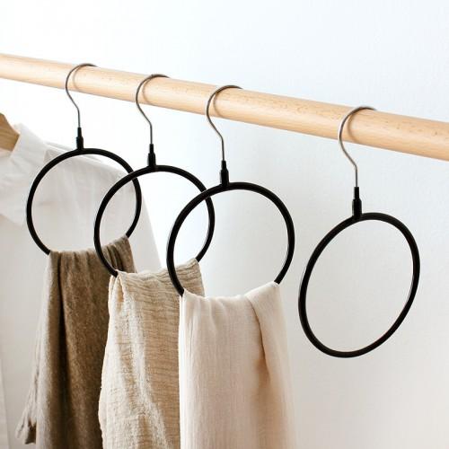 Покупка  Вешалка-кольцо для шарфов, палантинов и платков. Черный в  Интернет-магазин Zelenaya Vorona™