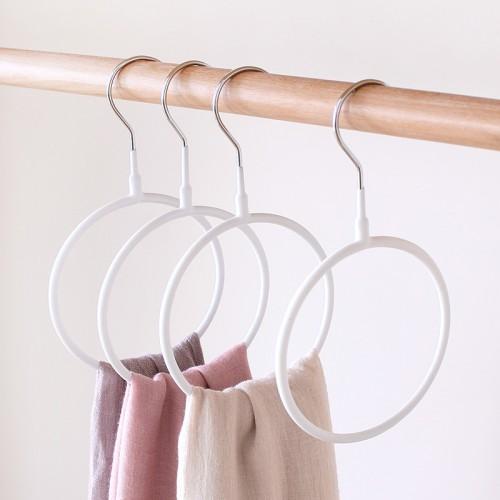 Покупка  Вешалка-кольцо для шарфов, палантинов и платков. Белый в  Интернет-магазин Zelenaya Vorona™