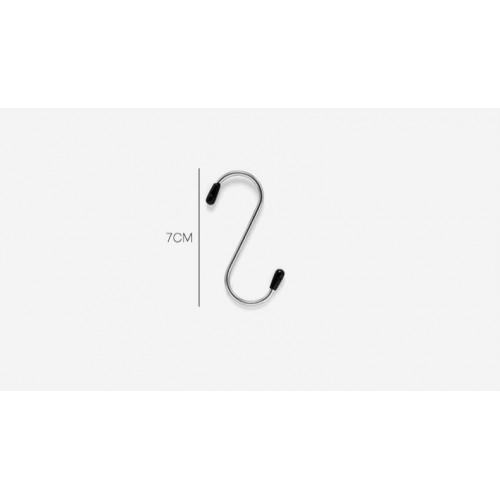 Металлические крючки для рейлинга 4 шт./наб.  в  Интернет-магазин Zelenaya Vorona™ 4