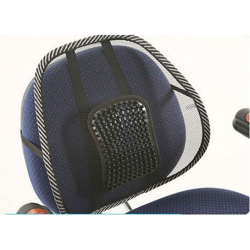 Упор массажный для спины подходит в офисное кресло и в авто  в  Интернет-магазин Zelenaya Vorona™ 1