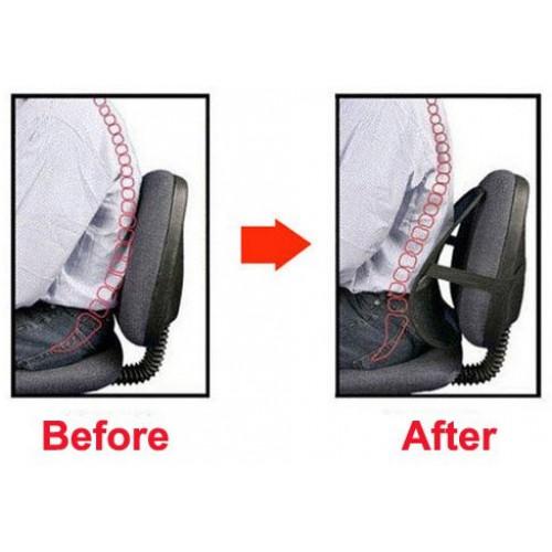 Упор массажный для спины подходит в офисное кресло и в авто  в  Интернет-магазин Zelenaya Vorona™ 2