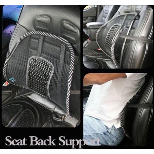 Упор массажный для спины подходит в офисное кресло и в авто  в  Интернет-магазин Zelenaya Vorona™ 3