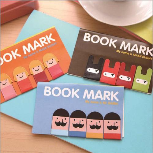 Покупка  Магнитные закладки для книг Book Mark 4 шт./комп. в  Интернет-магазин Zelenaya Vorona™