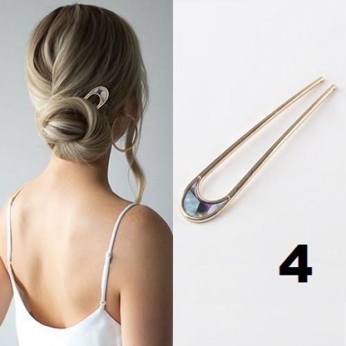 Элегантная заколка -шпилька для пучка волос Искушение  в  Интернет-магазин Zelenaya Vorona™ 4