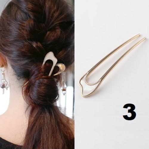 Элегантная заколка -шпилька для пучка волос Искушение  в  Интернет-магазин Zelenaya Vorona™ 3