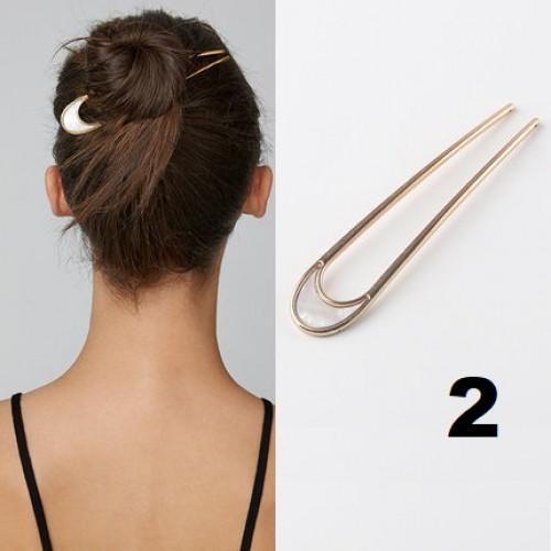 Элегантная заколка -шпилька для пучка волос Искушение  в  Интернет-магазин Zelenaya Vorona™ 2