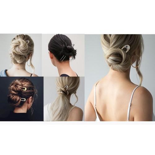 Элегантная заколка -шпилька для пучка волос Искушение  в  Интернет-магазин Zelenaya Vorona™ 5