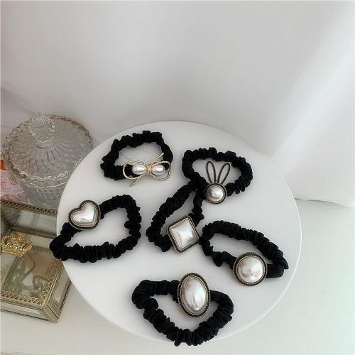 Покупка  Резинка для волос Французский жемчуг в  Интернет-магазин Zelenaya Vorona™