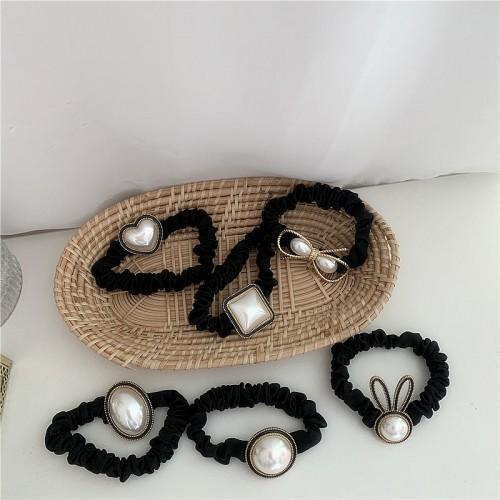 Резинка для волос Французский жемчуг  в  Интернет-магазин Zelenaya Vorona™ 1