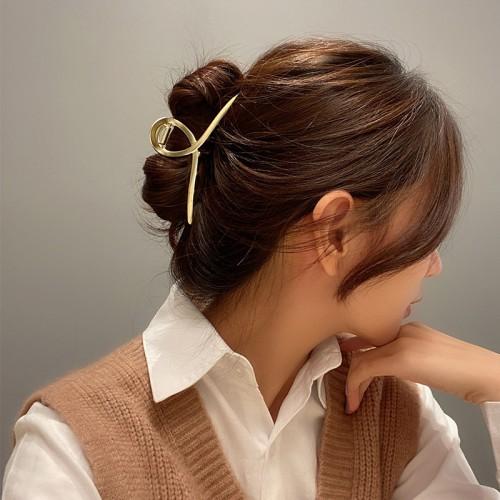 Металлический зажим для волос, заколка-краб Классическая  в  Интернет-магазин Zelenaya Vorona™ 1